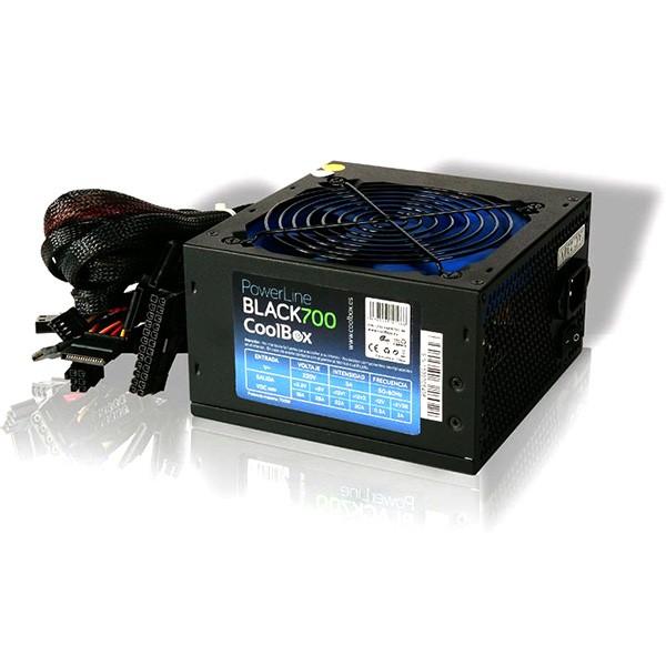 Fuente Alimentación CoolBox PowerLine Black-700 700W