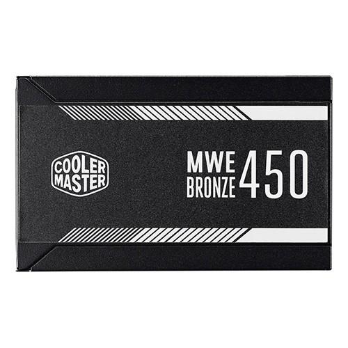 Fuente Alimentación Cooler Master MWE Bronze 450 450W