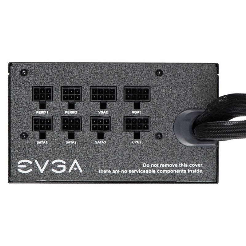 Fuente Alimentación Semi Modular EVGA BQ 650W 80 Plus Bronze