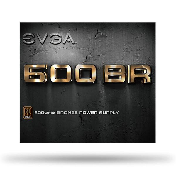 Fuente Alimentación EVGA BR 600W 80 Plus Bronze
