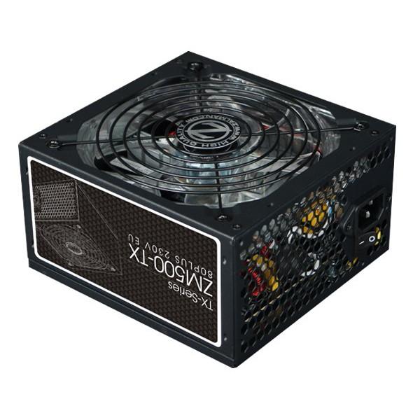 Fuente Alimentación Zalman ZM500-TX 500W LED 80 PLUS