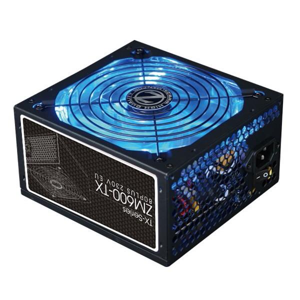 Fuente Alimentación Zalman ZM600-TX 600W LED 80 PLUS