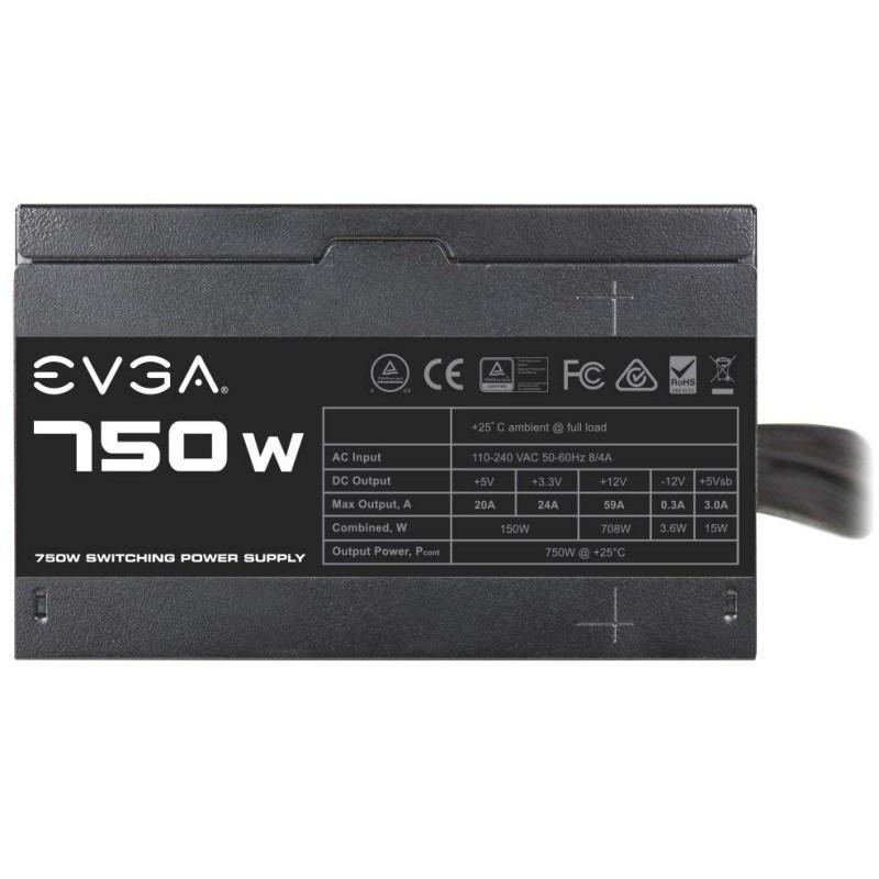 Fuente Alimentación EVGA 750 N1 750W