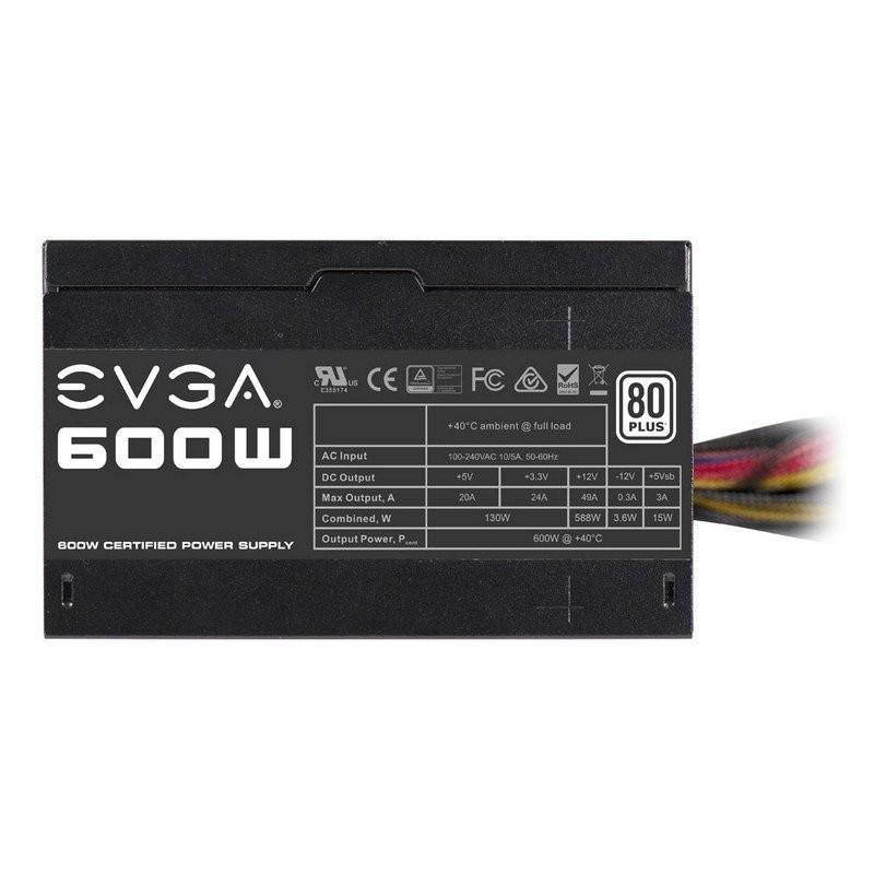 Fuente Alimentación EVGA W1 600W 80 Plus White