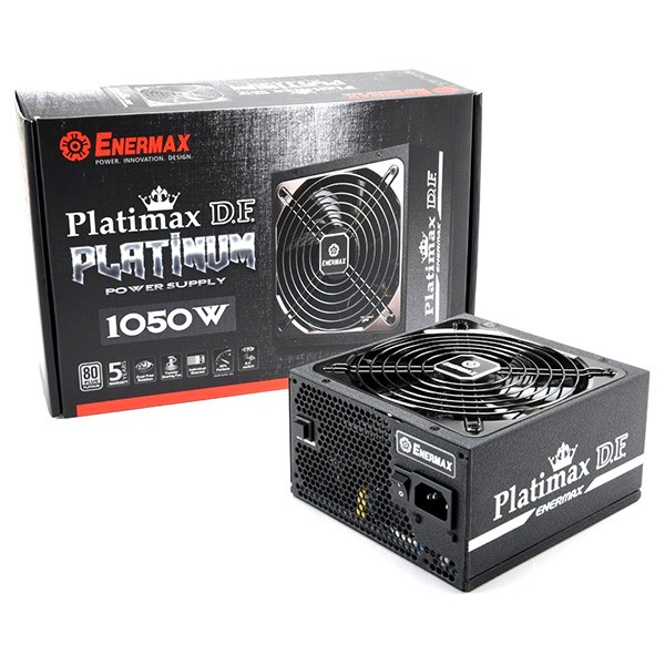 Fuente Alimentación Modular Enermax Platimax D.F. 1050W 80+ Platinum