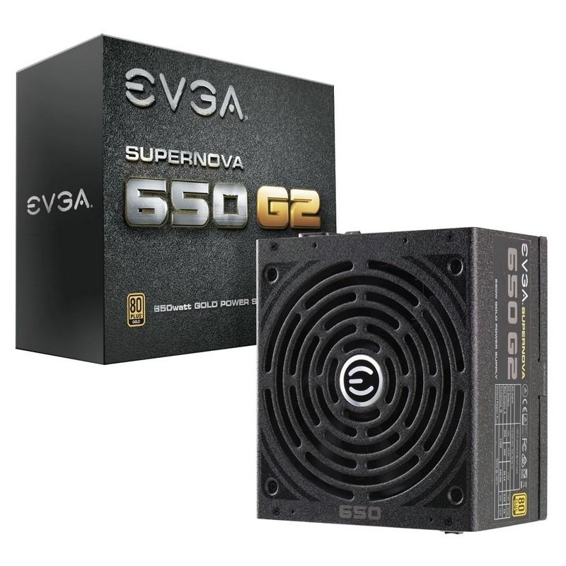 Fuente Alimentación Modular EVGA SuperNOVA 650 G2 650W 80+ Gold