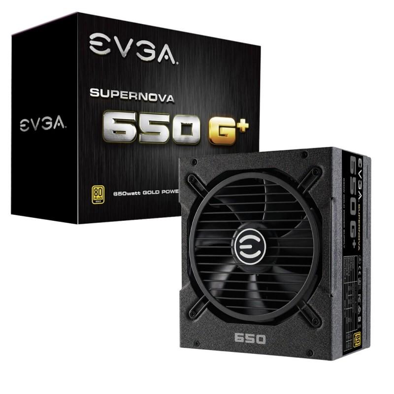 Fuente Alimentación Modular EVGA SuperNOVA 650 G1+ 650W 80 PLUS Gold