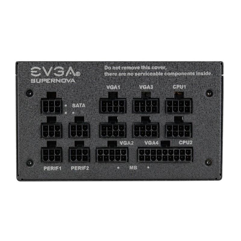 Fuente Alimentación Modular EVGA SuperNOVA 750 G1+ 750W 80 PLUS Gold