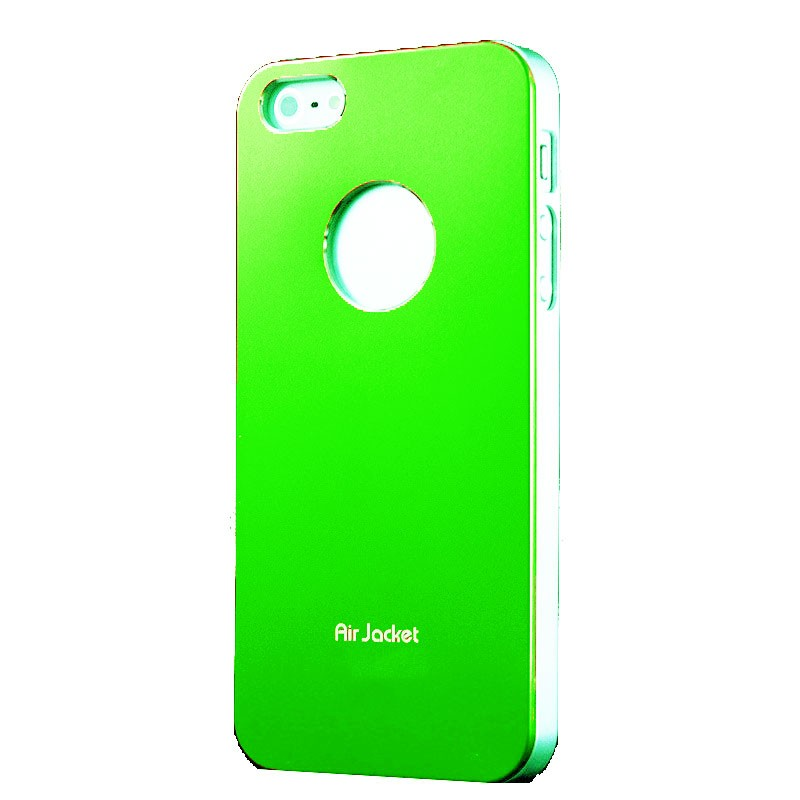 iphone-5-5s-iqwo-air-jacket-verde, 1.99 EUR @ opirata