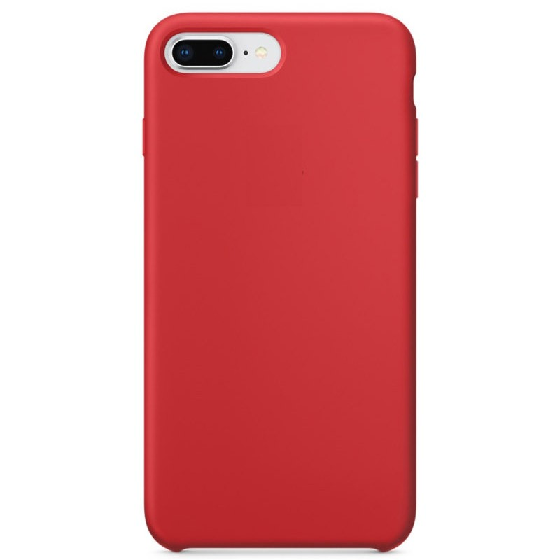 iphone-8-funda-silicona-rojo