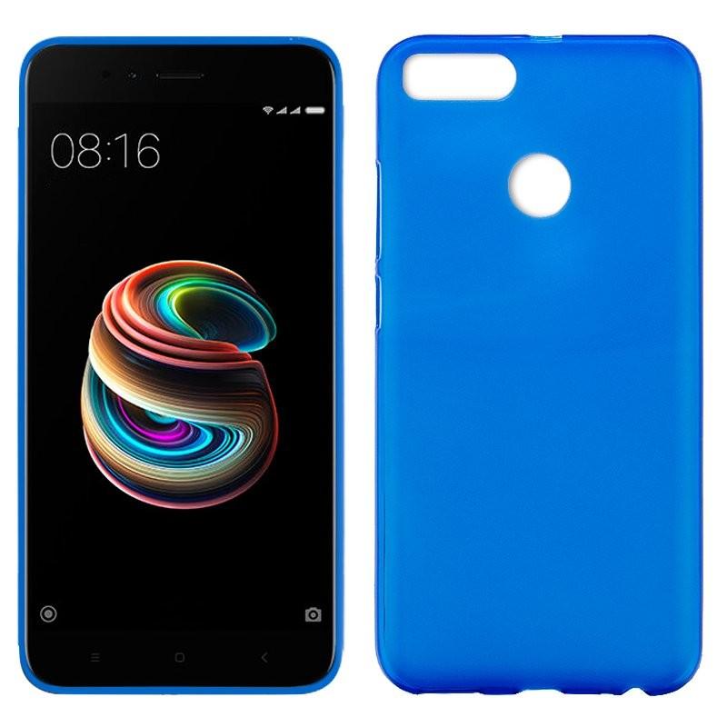 xiaomi-mi-a1-funda-silicona-azul