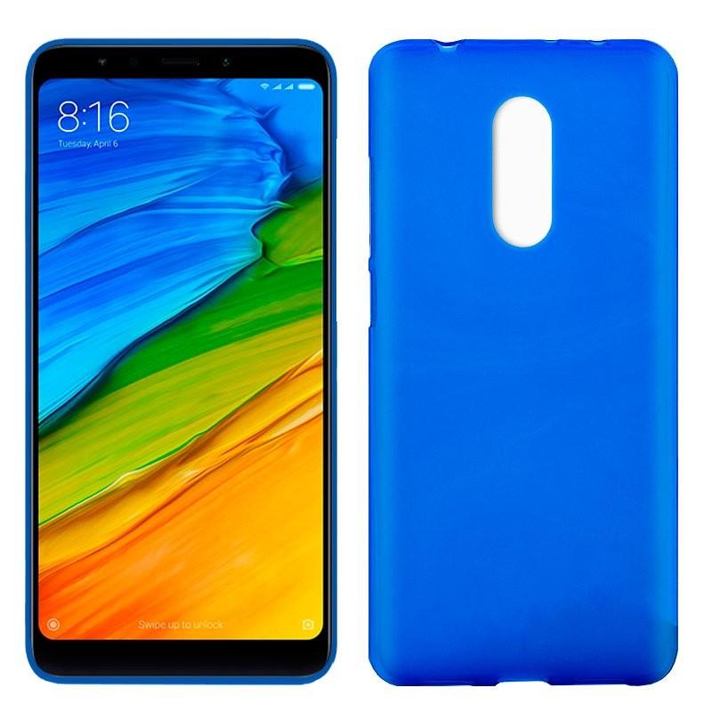 xiaomi-redmi-5-funda-silicona-azul