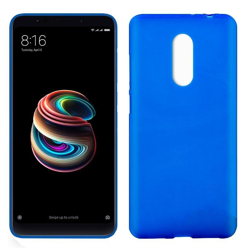 xiaomi-redmi-5-plus-funda-silicona-azul
