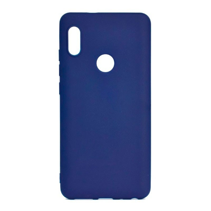 xiaomi-redmi-note-5-funda-silicona-azul