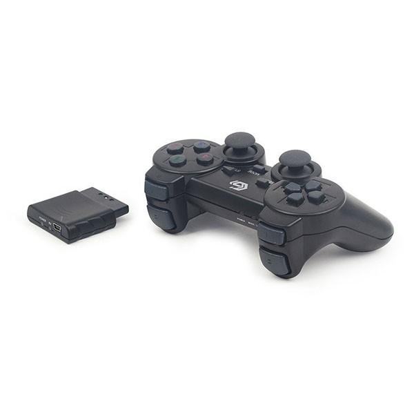 Gamepad Inalámbrico Gembird JPD-WDV-01 Con Vibración PC/Ps2/Ps3