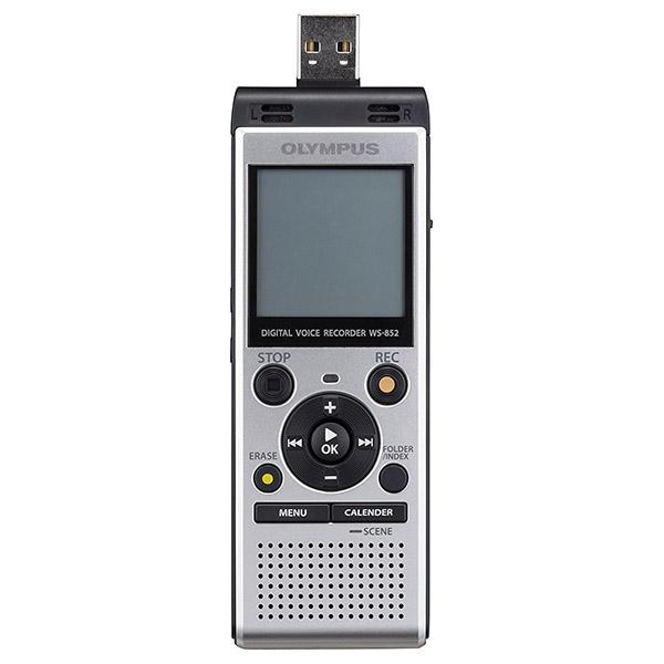 Grabadora Digital Olympus WS-852 Micrófono Unidireccional ME52 4GB Gris