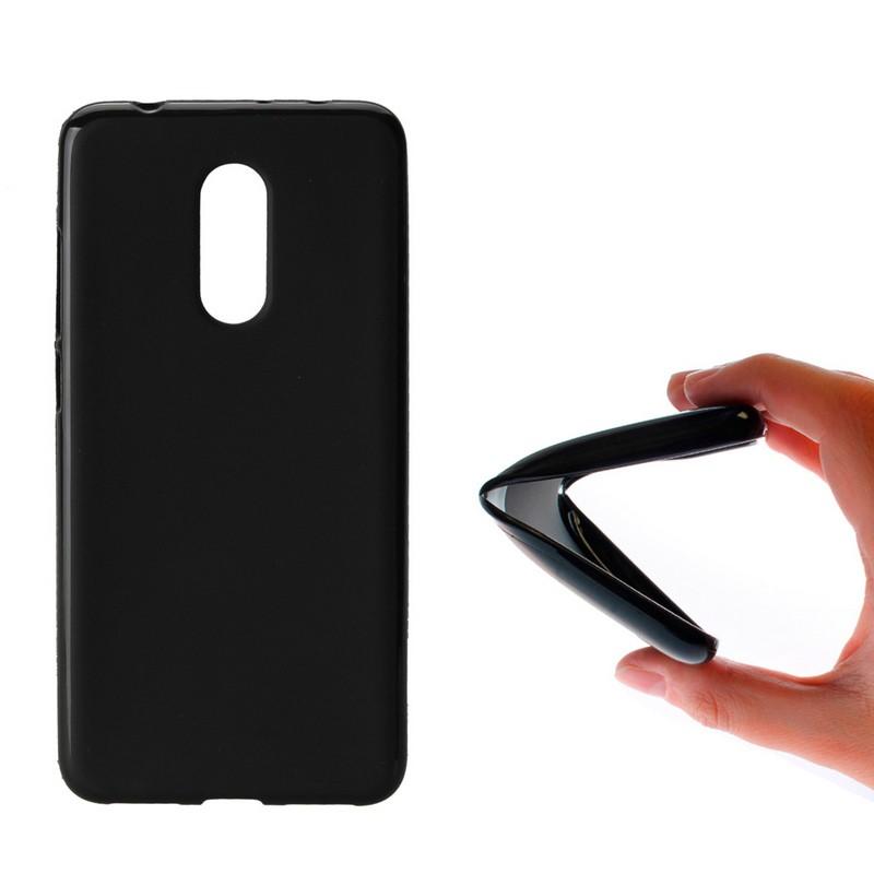Xiaomi redmi 5 plus funda silicona negro