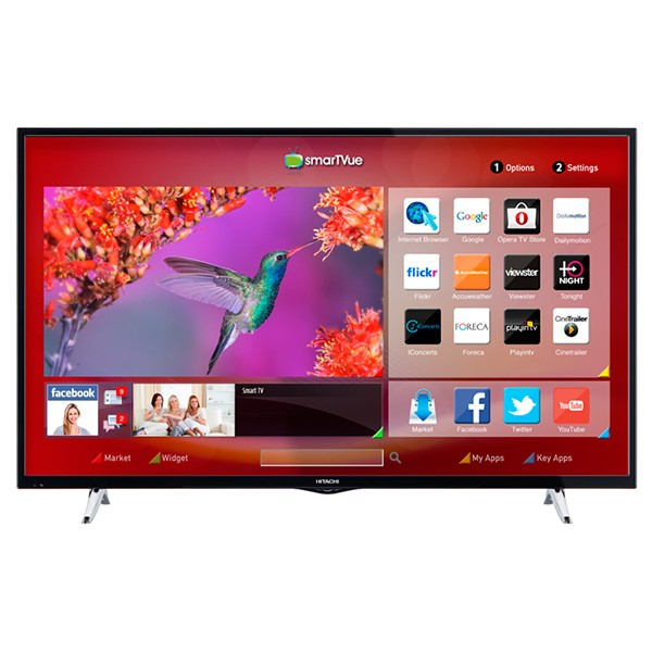 Televisor 55` hitachi 55hb6w62 full hd smart tv wifi