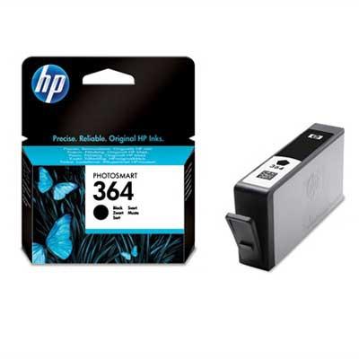 HP 364BK Cartucho de Tinta Original Negro