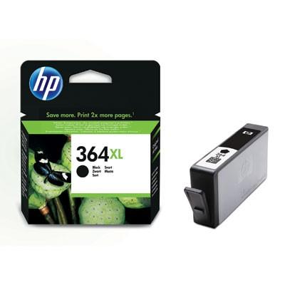 HP 364BK XL Cartucho de Tinta Original Negro