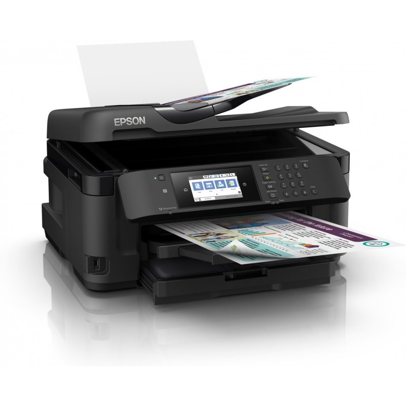 Impresora Multifunción Epson WorkForce WF-7710DWF A3 dúplex 4 en 1