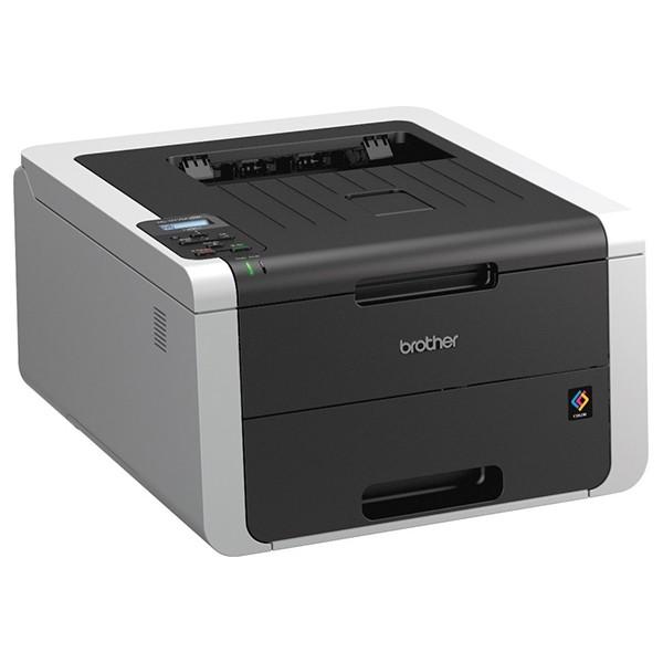 Impresora láser led color brother hl-3170cdw 22ppm 128mb wifi