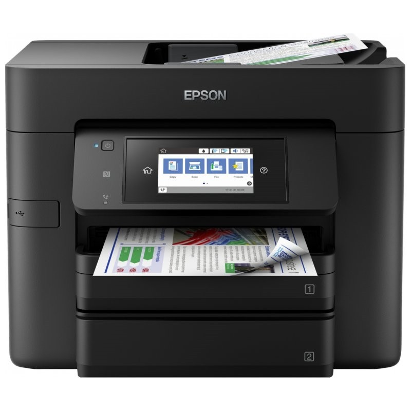 Impresora Multifunción Epson WorkForce WF-4740DTWF Wifi Fax
