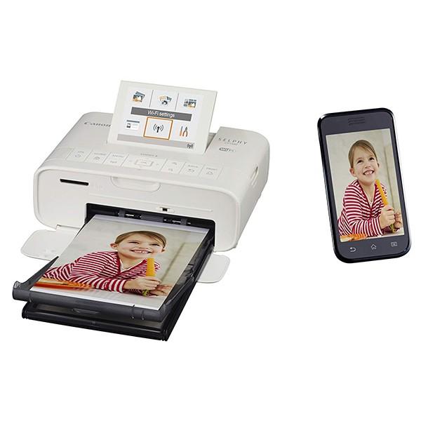 Impresora Multifunción Canon Selphy CP1300 Inalámbrica Blanca
