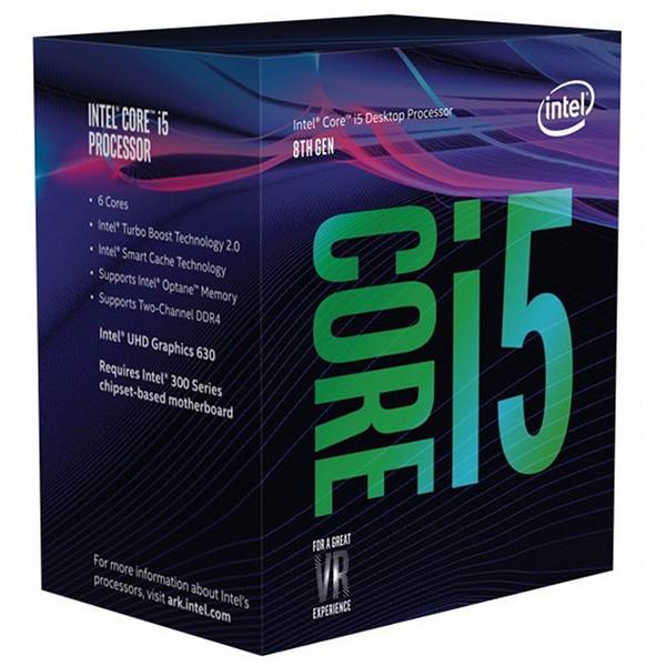 Procesador Intel Core i5-8400 2.80GHz 9MB LGA1151