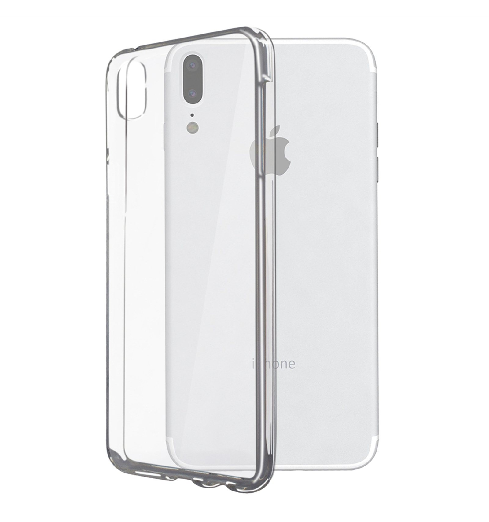 iphone-x-funda-silicona-transparente
