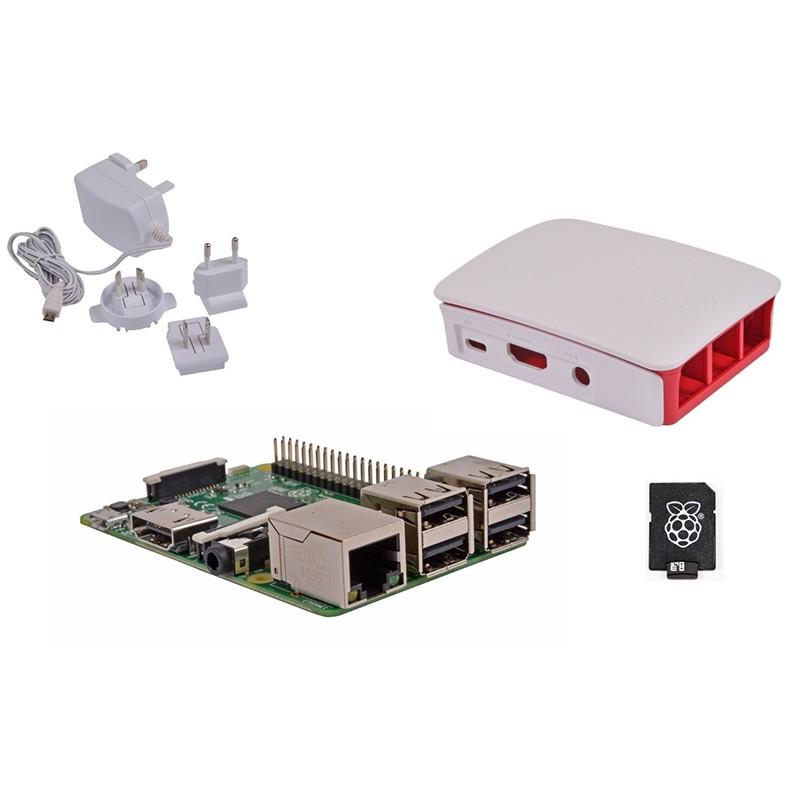 Kit Raspberry Pi 3 Modelo B / NOOBS 32GB + Fuente Blanca
