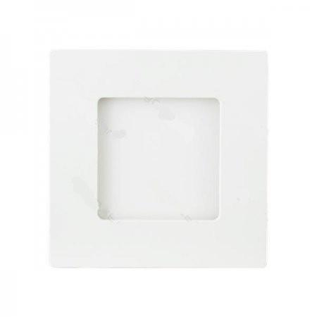 Lámpara de Techo LED 9W 6000K 360lm E6 Cuadrada