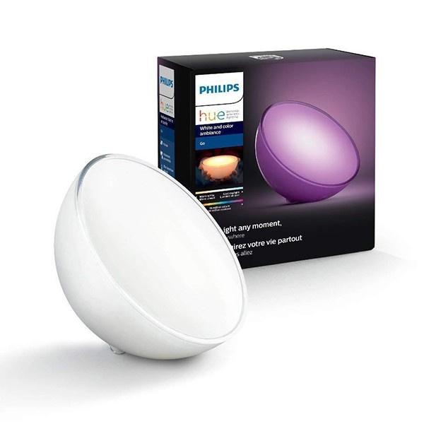 Lámpara de Mesa LED Philips Hue Go Portátil