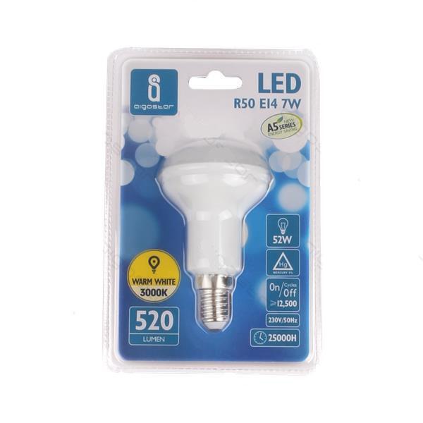 Lámpara Seta LED 7W 6400K 550lm E14 A5 R50
