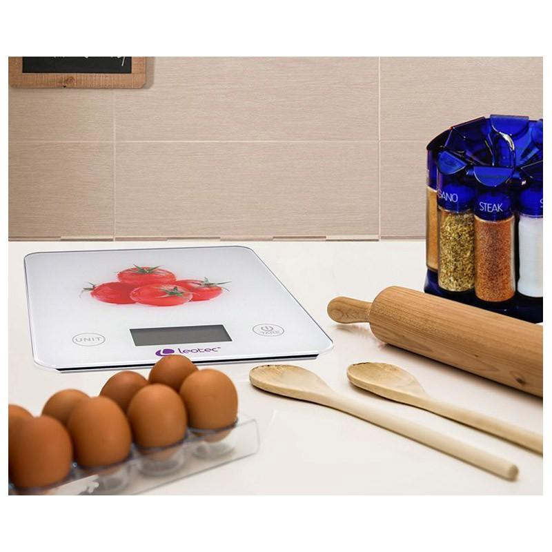 Bascula de cocina inteligente leotec smartkitchen for Cocina inteligente