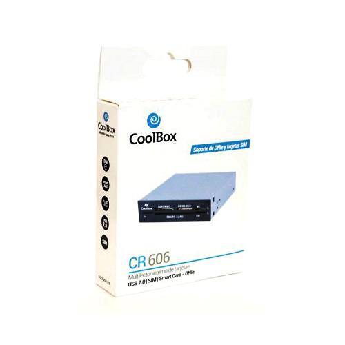 Multilector Interno de Tarjetas + DNIe CoolBox CR-606