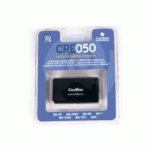 Lector de Tarjetas USB CoolBox CRE-050