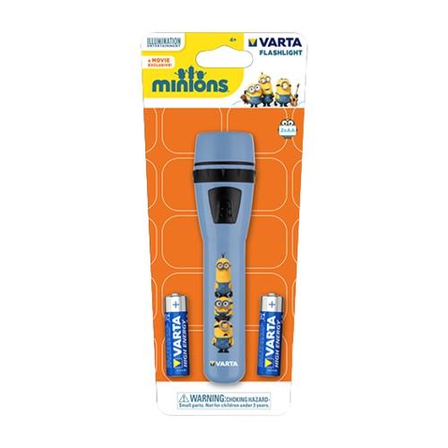 Linterna Minions Varta (Pilas 2AA Incluidas)