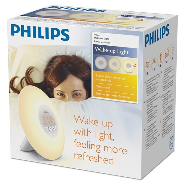 Despertador Mediante Lampara LED Philips HF3500/01