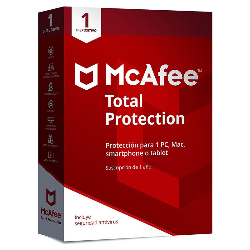 McAfee Total Protection 2018 1 Dispositivo