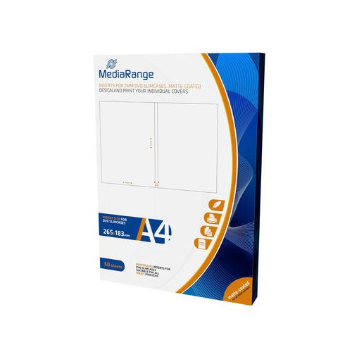mediarange-caratula-para-cajas-dvd-slim-7mm-50-uds-a4