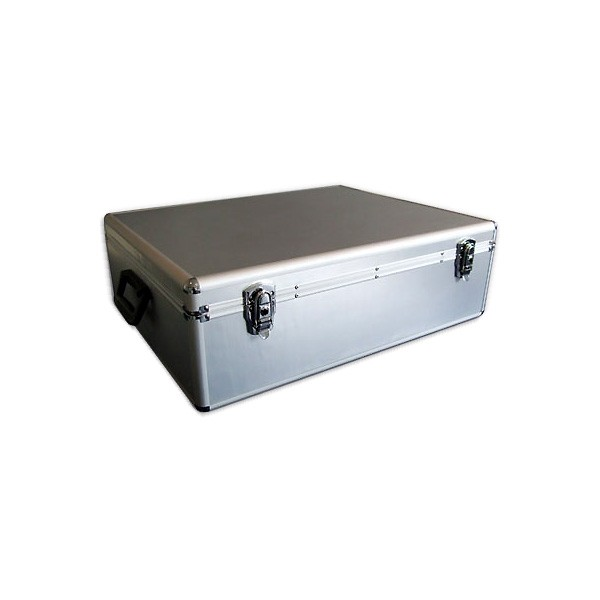 Archivador DJ Mediarange 1000 CD/DVD - Aluminio