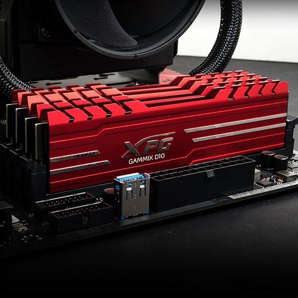 Memoria Adata XPG GAMMIX D10 16GB DDR4 2666MHz Roja