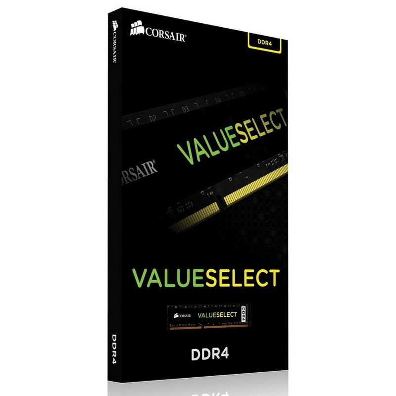 Memoria Corsair ValueSelect 8GB DDR4 2400MHz CL16