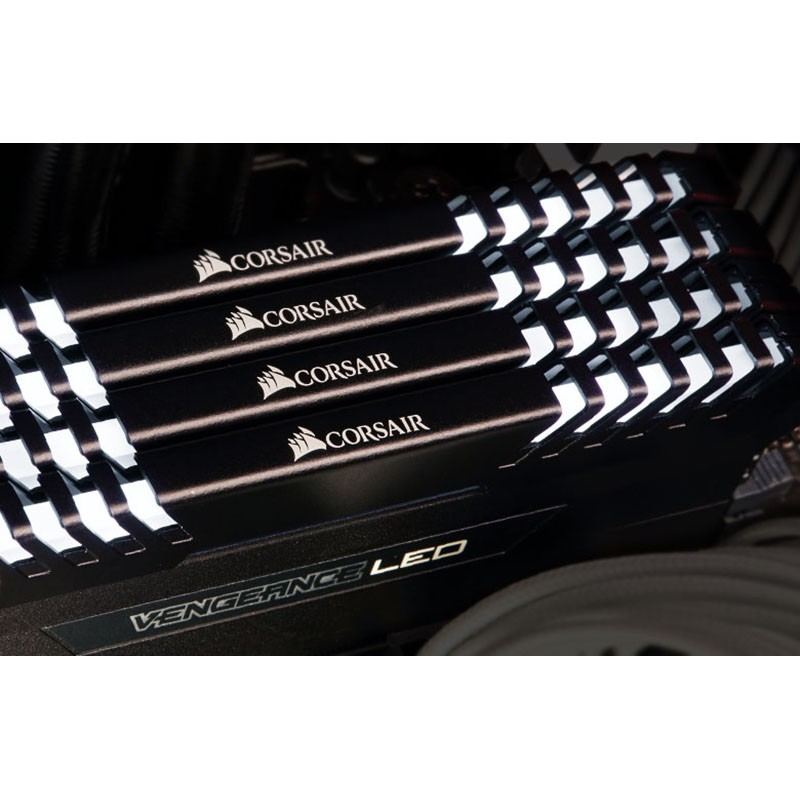 Kit Memoria Corsair Vengeance LED 16GB DDR4 2666MHz C16 (2x8GB)