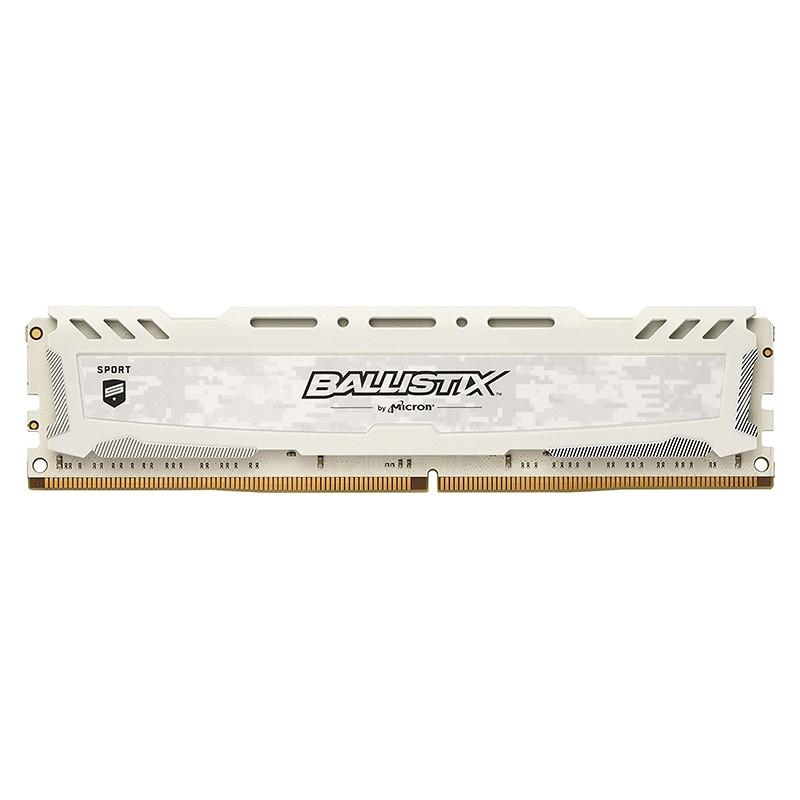 Memoria Crucial Ballistix Sport LT 4GB DDR4 2400MHz Blanco