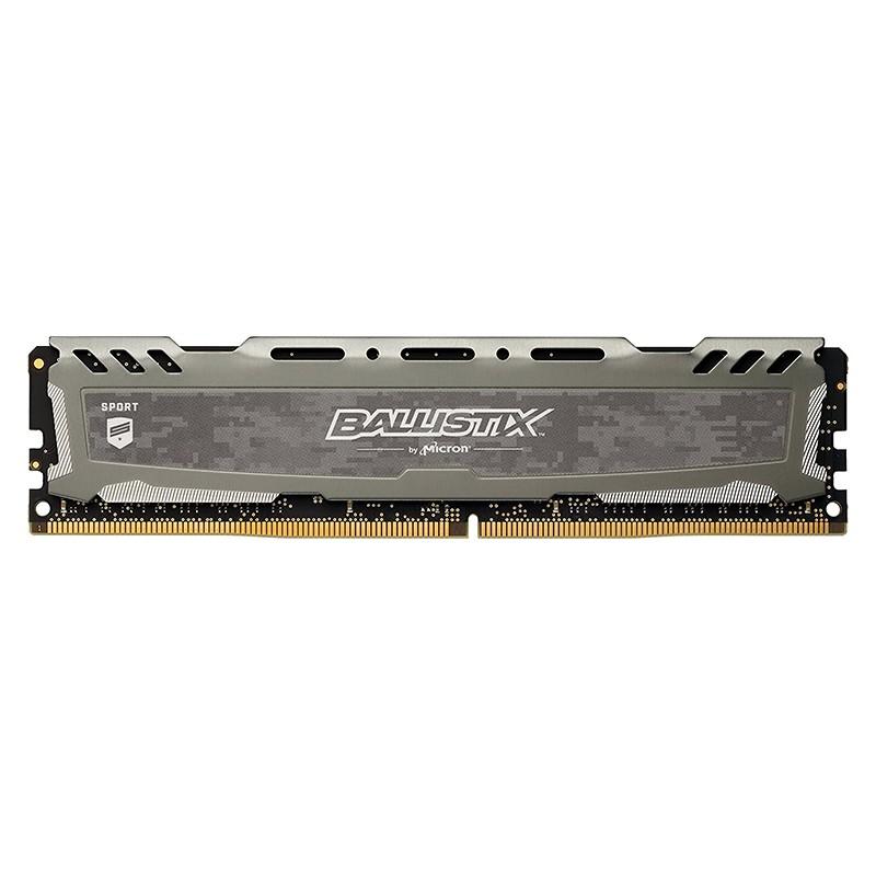 Memoria Crucial Ballistix Sport LT 16GB DDR4 2400MHz Gris