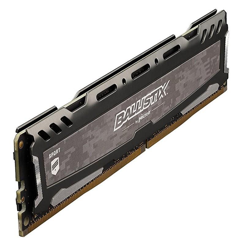 Memoria Crucial Ballistix Sport LT 8GB DDR4 2400MHz Gris