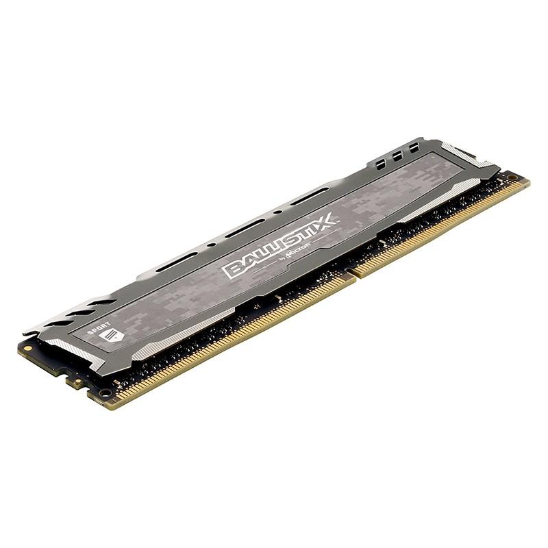 Memoria Crucial Ballistix Sport LT 4GB DDR4 2400MHz Gris