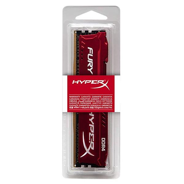 Memoria Kingston HyperX Fury 8GB DDR4 3466MHz Roja